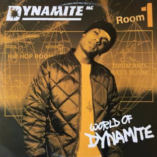 "Dynamite MC ‎- World Of Dynamite (Room 1) EP (12"") (G++/VG)"